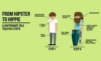 From hipster to hippie (2)