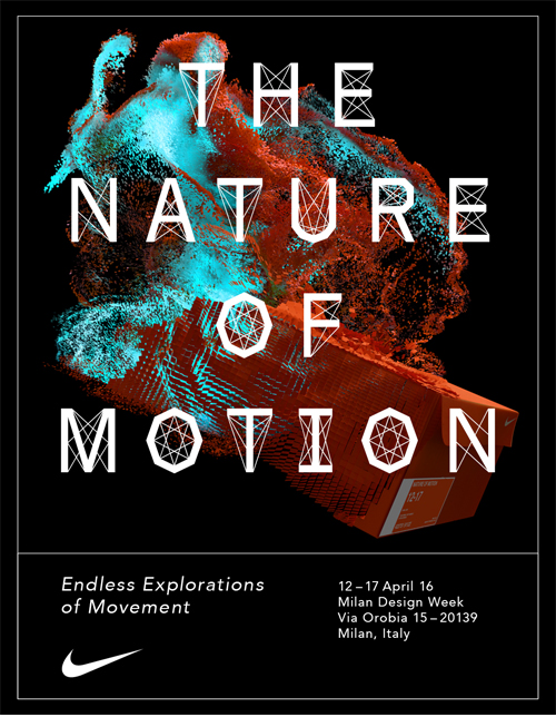 nike the nature of motion salone del mobile 2016